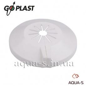 Накладка біла декоративна пластикова Go-Plast 10-22 мм