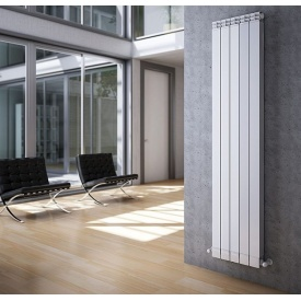 Радиатор алюминиевый дизайнерский вертикальный Nova Florida Maior S/90 1800 мм