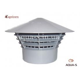 Грибок вентиляционный Capricorn Univent для вытяжных систем 110 полипропилен
