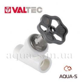 Вентиль полипропиленовый прямоточный 32 мм VALTEC