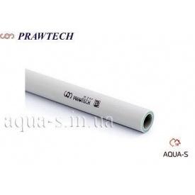 Труба полипропиленовая Prawtech PPR-100 PN 20 DN 20 мм для горячей/холодной воды