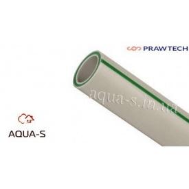 Труба армированная Prawtech Glass стекловолокно PN 20 DN 90 мм для систем отопления