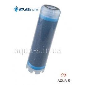 """Картридж для води Atlas Filtri LA 10"""" SX TS з активованого коксового вугілля RA5185125"""
