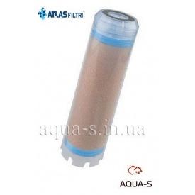 """Картридж з катіонообмінної смоли Atlas QA 10"""" CF SX TS для пом'якшення жорсткості води 45°С"""