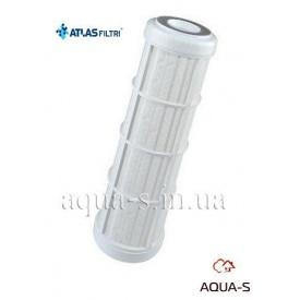 """Картридж для воды самопромывной Atlas Filtri RL C SX 10"""" 50 mcr с полиэфирной сеткой RA5018114"""