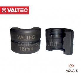 Вкладиші для прес-кліщів VALTEC 16 мм профіль TH (VTm.294.0)