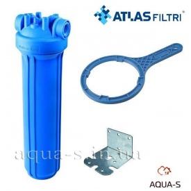"""Фильтр-колба Atlas Filtri DP BIG AB Dn 1"""" 20"""" для картриджей 4,5"""" увеличенного ресурса"""