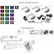 Підсвічування Cama RGB 4 Різнобарвний