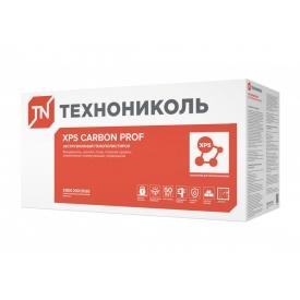 Экструдированный пенополистирол XPS ТЕХНОНИКОЛЬ CARBON PROF SLOPE-1,7% S/2 1200х600х10-30 Элемент A
