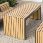 Садовий стіл в стилі LOFT (Garden Table - 14)