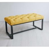 Банкетка-пуф для передпокою в стилі LOFT (Sofa-83)