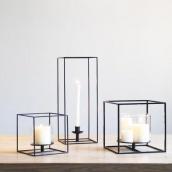Настільний свічник у стилі LOFT (Lamp-24)