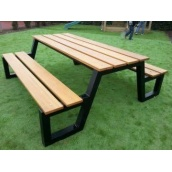Садовий стіл в стилі LOFT (Garden Table-06)
