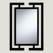 Настінне дзеркало в стилі LOFT (Wall Shelf-77)