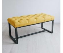 Банкетка-пуф для прихожей в стиле LOFT (Sofa-83)