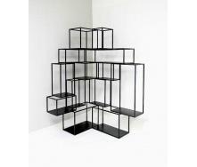 Навісна полиця в стилі LOFT (Wall Shelf-10)