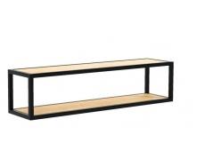 Навісна полиця в стилі LOFT (Wall Shelf-12)