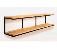 Настінна полиця в стилі LOFT (Wall Shelf-25)