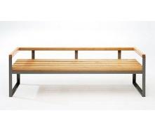 Скамейка парковая стиле LOFT (Street Bench - 28)