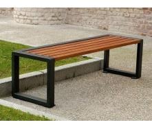Скамейка парковая в стиле LOFT (Street Bench - 11)