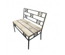 Скамейка парковая стиле LOFT (Street Bench - 41)