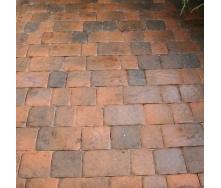 Тротуарная плитка Золотой Мандарин Старая площадь 160х40 мм латина