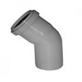 Уголок канализационный колено 50 мм 67°