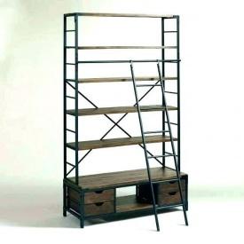Стеллаж для хранения в стиле LOFT (Rack-051)