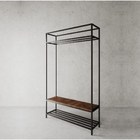 Стійка для одягу в стилі LOFT (Hanger - 76)