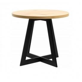 Обеденный стол в стиле LOFT 800х750 (Table - 160)
