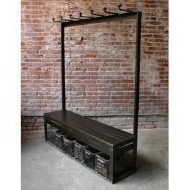 Стійка-вішалка для одягу в стилі LOFT (Hanger - 01)