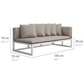 Модульный диван в стиле LOFT (Sofa-02)