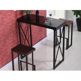 Набор стол + 2 стулья в стиле LOFT (Table - 268)
