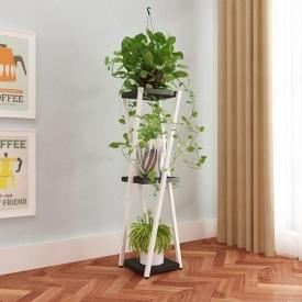 Подставка для цветов в стиле LOFT (Support for Flowers-25)