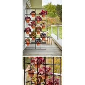 Стеллаж для цветов в стиле LOFT (Support for Flowers-47)