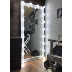 Деревянное зеркало в стиле LOFT 150 см (Mirror-08)