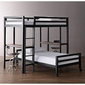 Кровать в стиле LOFT (Bed-027)