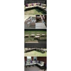 Набір садових меблів у стилі LOFT (NS-970001452)