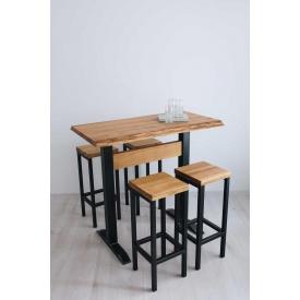 Барний комплект стіл + стільці в стилі LOFT (Bar Table-21)