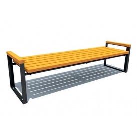 Скамейка парковая стиле LOFT (Street Bench - 48)