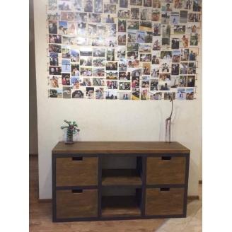 Тумба-підставка для TV в стилі LOFT (Stand-078)