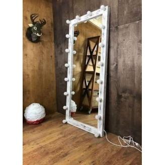 Дерев'яне дзеркало в стилі LOFT 180 см (Mirror-13)