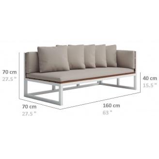 Модульний диван в стилі LOFT (Sofa-02)