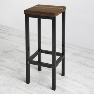 Барный стул в стиле LOFT (Bar Stool-48)