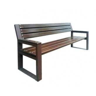 Лавочка парковая в стиле LOFT (Street Bench - 10)