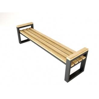 Скамейка парковая в стиле LOFT (Street Bench - 16)