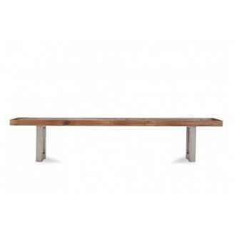 Скамейка парковая в стиле LOFT (Street Bench - 04)
