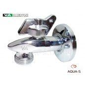 """Кран кутовий Albertoni Squalo дизайнерський 1/2'x3/4"""" для пральних і посудомийних машин"""