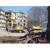Демонтаж підлоги домів