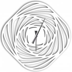 Часы настенные WallArt Mulinello белые (WA_Mul_0001)